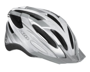 Lazer hjelm 54 61 cm varenr 33328 Vandal Silver White uden auto